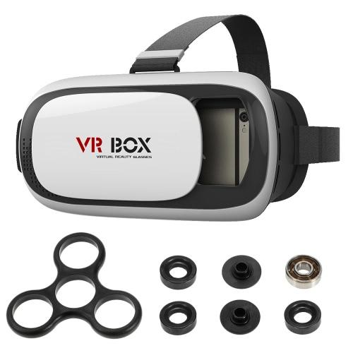 Virtual Realidade Virtual Headset 3D Glasses + DIY Tri Fidget Spinner