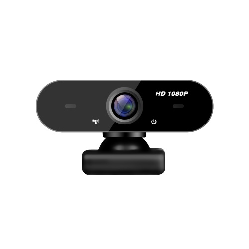 1080P Webcam High Definition Manual Focus USB Web Camera with Noise Isolating Microphone for Laptop/PC