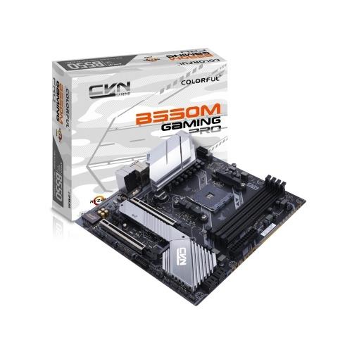 Colorful CVN B550M GAMING PRO V14 Motherboard Gaming Mainboard AMD AM4 Socket Support 3rd Generation AMD Ryzen Processors