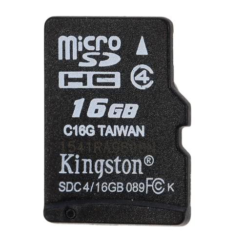 Kingston Class 4 8G 16GB MicroSDHC TF Scheda di Memoria 4MB/s  Velocità Minima
