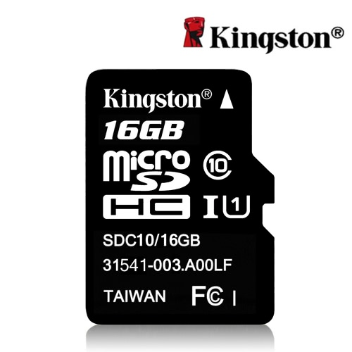 Genuine Original Kingston Class 10 16GB MicroSDHC TF Flash Memory Card 48MB/s Maximal Speed