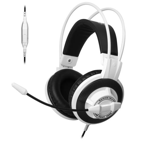 Somic G925 Esport Gaming jogo fone de ouvido estéreo Headphone fones de ouvido sobre orelha com fio com microfone de 3,5 mm