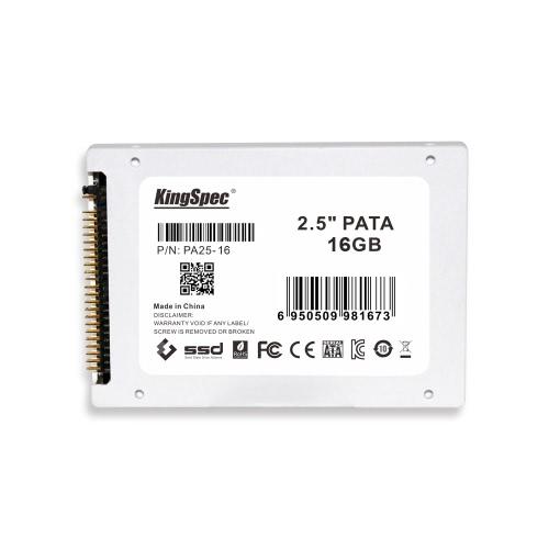 """KingSpec PATA (IDE) 2.5 """"2,5 cala 16 GB pamięci MLC Digital SSD Solid State Drive"""