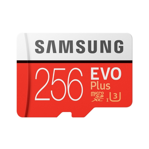 Samsung Memory 256GB EVO Plus MicroSDXC 95MB/s U3 Class 10 TF Flash Memory Card