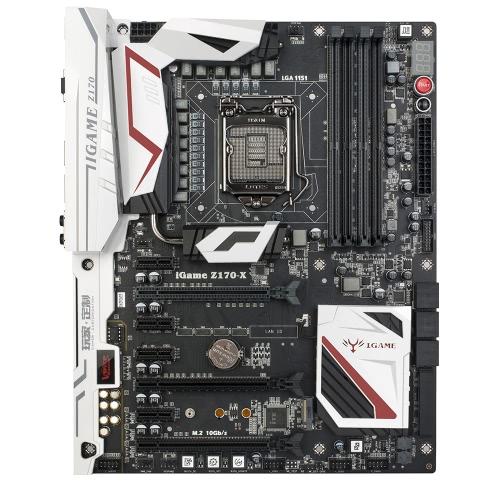 Płyta główna z płytą główną iGame Z170 Ymir X dla procesorów Intel Z170 / LGA1151 DDR4 ATX SATA-E USB 3.1 Obsługa portów M.2 CrossFireX i SLI na komputer