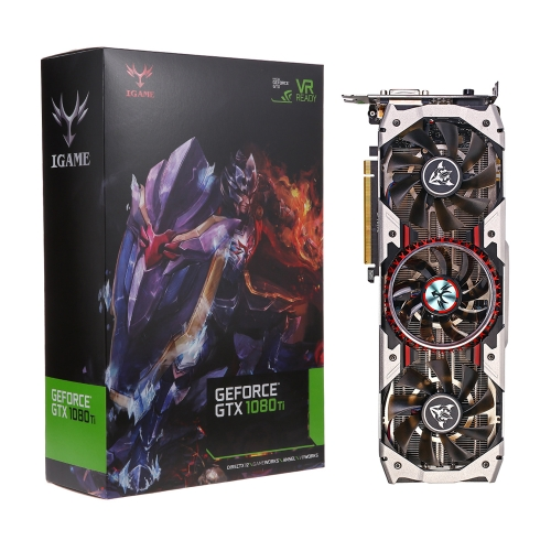 Colorful iGame GTX1080Ti Vulcan AD 11GB GDDR5X 352bit Video Graphics Card