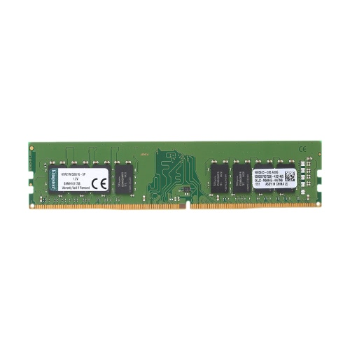 Kingston ValueRAM 16GB 2133MHz DDR4 PC4-2133 Non-ECC CL15 1.2V 2Rx8 288-Pin DIMM Desktop Memory KVR21N15D8 / 16-SP