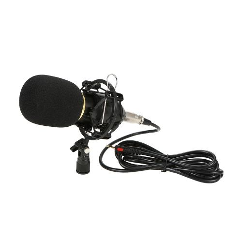 Profesjonalny mikrofon pojemnościowy z nagrywaniem Studio Broadcasting