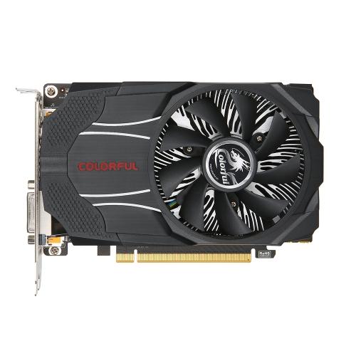 Colorido NVIDIA GeForce GTX1060 Mini OC 3G placa gráfica 1531 / 1746MHz 8 Gbps GDDR5 192bit PCI-E 3.0 com HDMI DP DVI-D Port