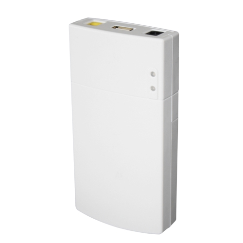 GM322 Mini UPS Power Protection Charger 7800MAH DC Power Bank Portable Power for 12V 2A Applications Protection White
