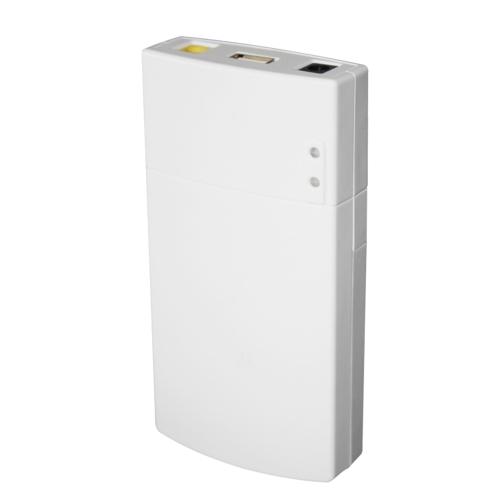 GM322 Zasilacz mini UPS Power Protection 7800MAH Przenośny zasilacz DC Power Bank do ochrony aplikacji 12V 2A Biały
