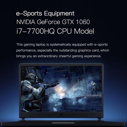 xiaomi mi gaming laptop i7-7700hq 16gb+256gb+1tb gtx1060