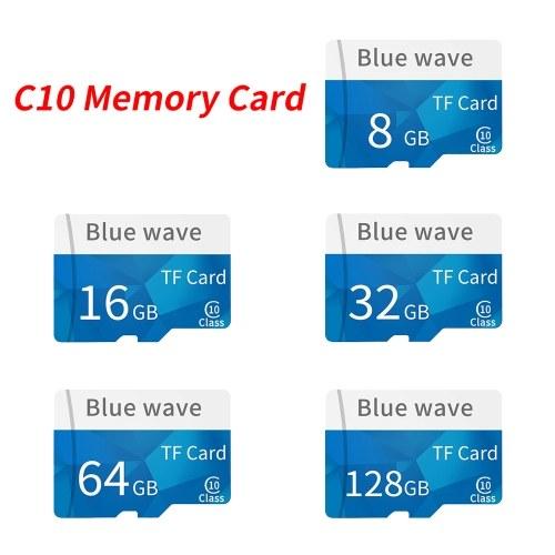Memory Card 8GB/16GB/32GB/64GB/128GB Large Capacity Class 10 TF Card Flash TF Card Data Storage High Speed for Smartphone