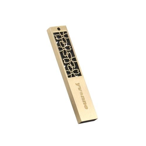 yvonne Metallo USB Flash Drive Pen Drive 16G Memory Stick Pendrives regalo con fiori di finestra