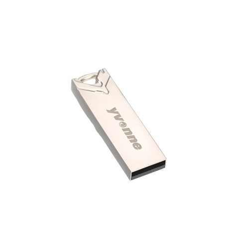 yvonne Metal USB Flash Drive Pen Drive 16G Memory Stick Pendrives Gift