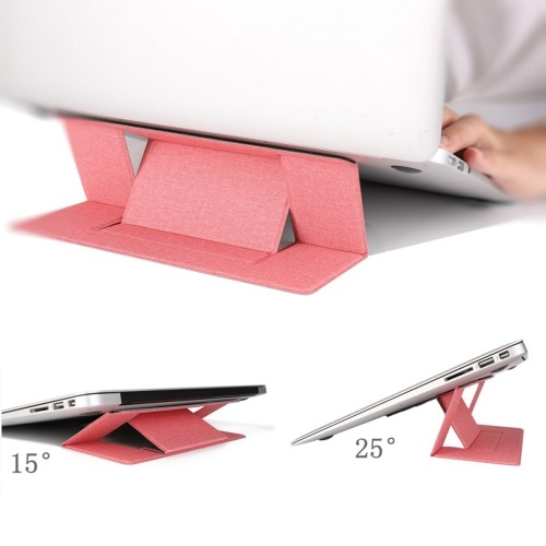 Invisible Stand Folding Adjustable Bracket Portable Tablet Holder for Laptops Washable Reusable