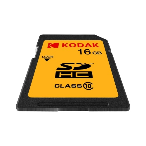 Kodak U1 SD Card 16GB High Speed 85MB/s Class 10 Memory Card Digital SLR Camera Card