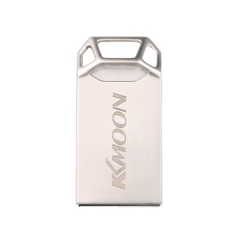 KKmoon USB Flash Drive USB3.0 Mini portatile U disco 16GB Pendrives Car Pen Drive Silver per PC Laptop