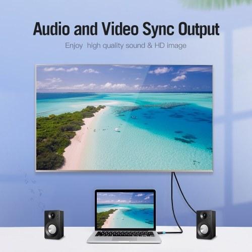 Vention HDMI-кабель 4K Цифровой HD-кабель 3D-видеокабель Кабель для передачи данных 10,2 Гбит / с 18 Гбит / с Проектор Ноутбук Телевизор ЖК-монитор Кабель ТВ Кабель Черный 5 м фото