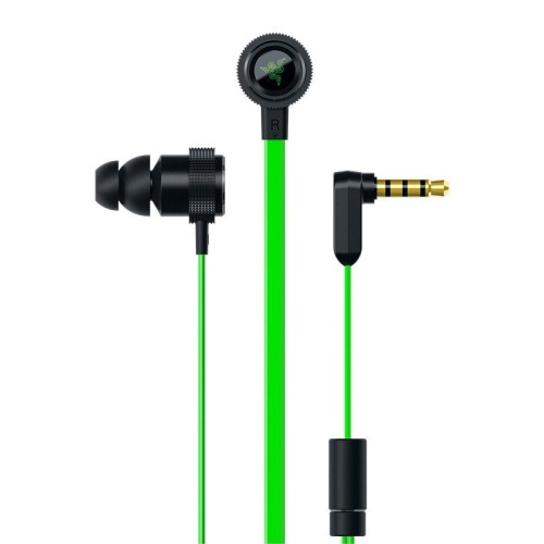 Razer Hammerhead V2 Earbuds In-ear Gaming Headphone Earphone 10mm Dynamic Drivers Flat-style Cables Aluminum Frame 3.5mm Jack