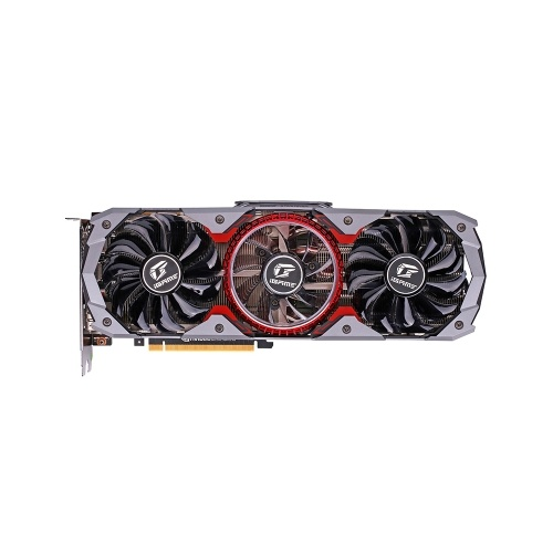 Colorful iGame GeForce RTX 2080 Super Advanced OC GDDR6 8G Graphic Card Plate Behind Armor 5*8mm Copper Tubes Breathing Light Silver Shark Cooler One-key Overclock RGB