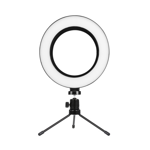 6inch LED Ring Light Circular LED Photography Video Selfie Ring Light Desktop Tripod  Stand for You Tube/Tik Tok Live Streaming