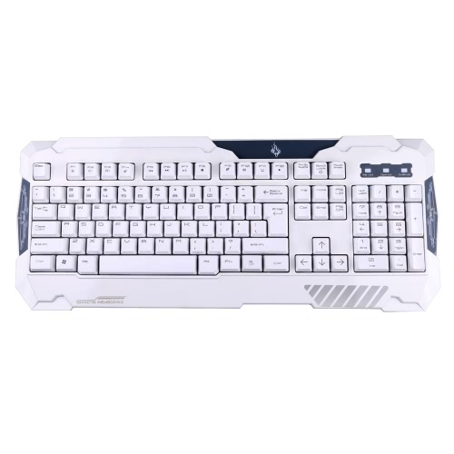 USB Wired 26 Keys Anti-ghosting with LED Backlit Gaming Keyboard for PC