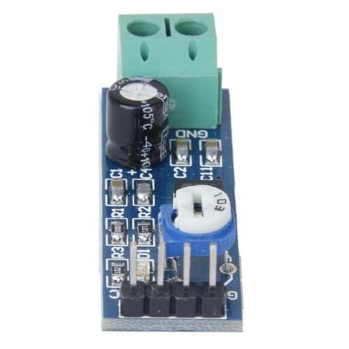 LM386 Chip 200 Gain Audio Amplifier Module - Blue for Arduino DIY