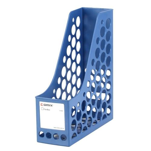 Comix A1083 Office Desktop revista Plastic Literatura Arquivo titulares Organizador etiquetas 1 Compartimento