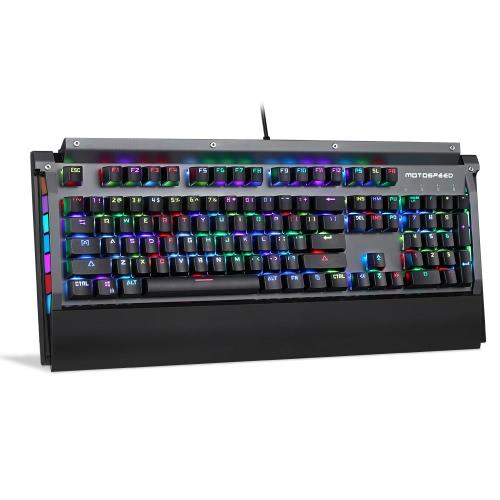 Klawiatura z klawiaturą MOTOSPEED CK98 z przełącznikiem BOX Definicja Makro