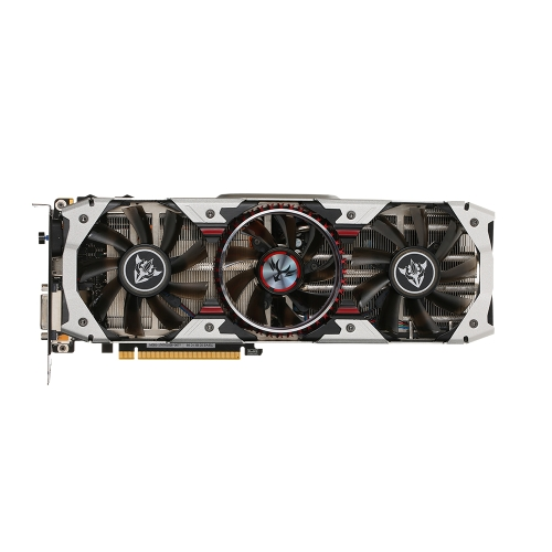 Colorido iGameGTX1080 X-TOP-8G Advanced Video Graphics Card 1759-1898MHz 8GB / 256Bit GDDR5X PCI-E 3.0 3 * DP + HDMI + DVI