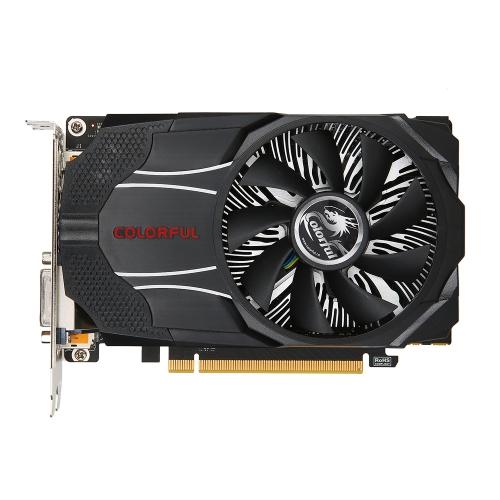 Colorido NVIDIA GeForce GTX1060 Mini OC 6G Placa gráfica 1531 / 1746MHz 8 Gbps GDDR5 192bit PCI-E 3.0 com HDMI DP Porta DVI-D