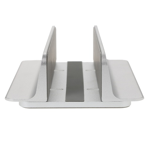 Adjustable Vertical Laptop Stand Aluminum Alloy Holder Bracket Cooler Cooling Pad Space-saving for MacBook Pro/Air/iPad/iPhone/Notebook/Tablet/PC/Smartphone thumbnail