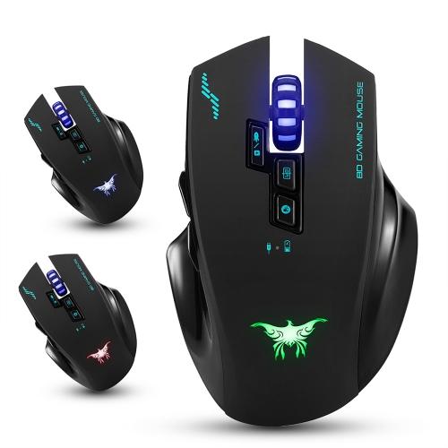 Bezprzewodowa mysz do gier combatwing 2.4G 2400 DPI Optical
