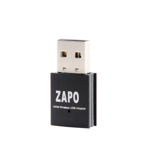 ZAPO W77 300Mbps 2.4G Wireless WiFi Adapter
