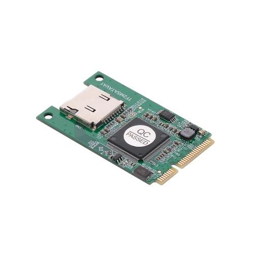 mSATA to TF MicroSD Adapter Cards Laptops Converter for Windows ME/2000/XP/Vista/7/8/10 and Mac OS
