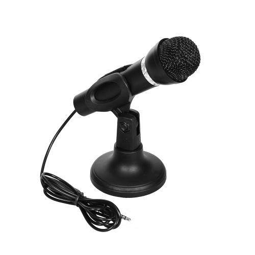 Multi-function Desktop Microphone Omnidirectional Condenser Microphone Desktop Laptop Microphone for Meeting Voice Chat Karaoke