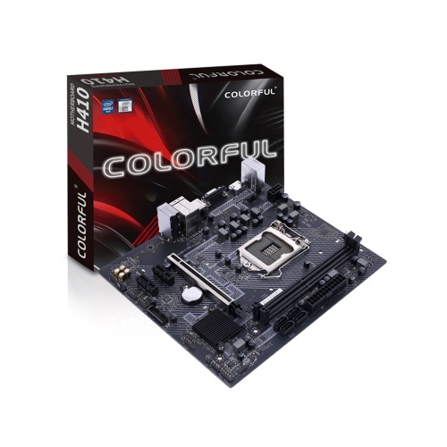 Colorful H410M-K PRO V20 Gaming Motherboard Support 10th Generation Intel Core Processors(Comet Lake-S series, Socket 1200)