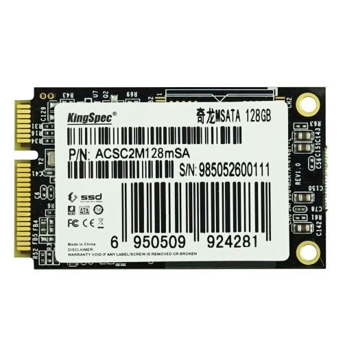 KingSpec MSATA MINI PCI-E 128G MLC Digital Flash Solid State Drive Storage SSD for PC Devices