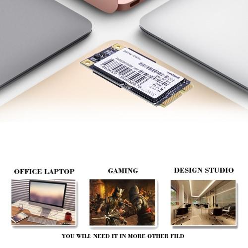 KingSpec MSATA MINI PCI-E 128G MLC Digital Flash SSD Solid State Drive