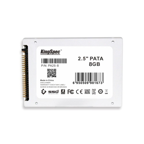 KingSpec PATA(IDE) 2.5 Inches 8GB MLC Digital SSD Solid State Drive for PC Laptop Notebook