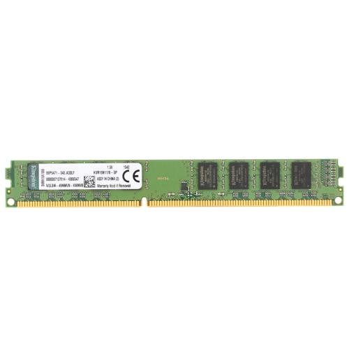 Genuine Original Kingston KVR Desktop RAM 1600MHz 8G Non ECC DDR3 PC3-12800 CL11 240 Pin DIMM Memória da placa-mãe para PC
