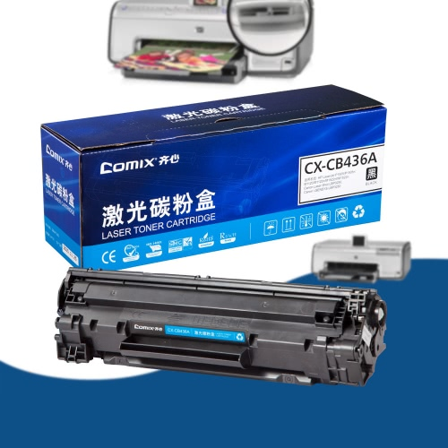 Black Toner Cartridge Compatible for HP LaserJet P1505/P1505n/M1120/M1120n/M1522nf/M1522n for Canon Laser Shot LBP3250/i-SENSYS LBP3250