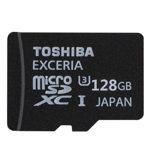 MicroSDXC de 128GB TOSHIBA classe U3 MicroSD TF cartão de memória Flash 90MB/s