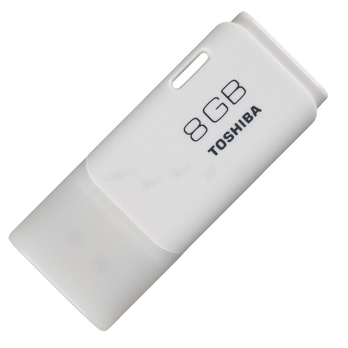 TOSHIBA 64GB USB 2.0 TransMemory Hayabusa Flash Pen Drive Memory Thumb Stick External Storage Memory White