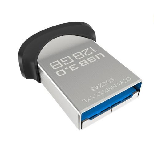 SanDisk USB 3.0 16GB Super Mini Ultra Fit Flash Drive CZ43 High Speed USB Flash Pen Thumb Drive External Storage Memory Stick Low-Profile SDCZ43-016G-Z46 - 16GB