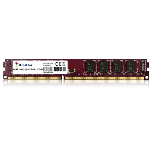 ADATA 8G Premier DDR3 1600MHz módulo de memória Ram 240 Pin Unbuffered DIMM PC3 12800 1.5V for Desktop