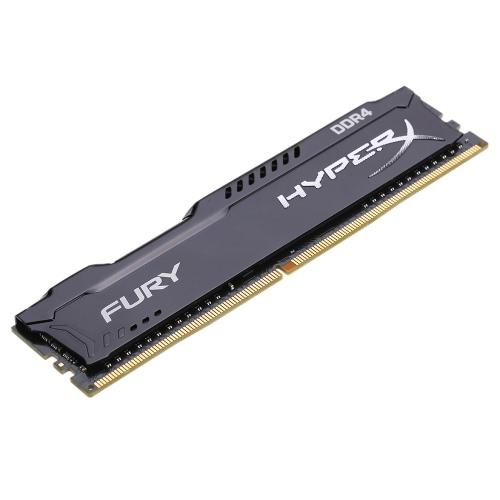 Kingston HyperX FURY Black 8GB DDR4-2400 CL15 DIMM 288-pin 2Gx64Bit Desktop Internal Memory