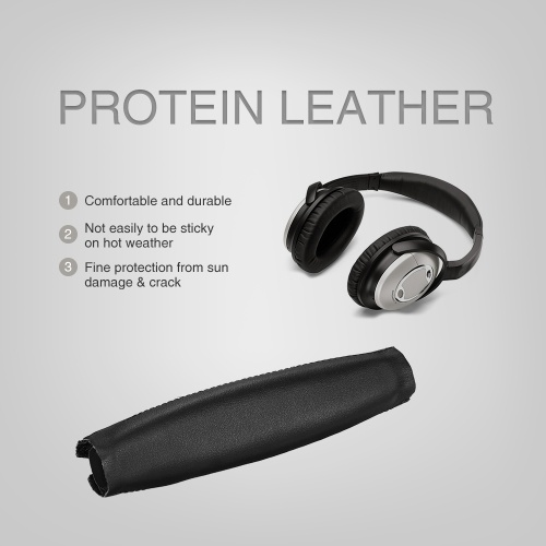 Tomtop Replacement Black Protein Leather Cushion Pad Parts
