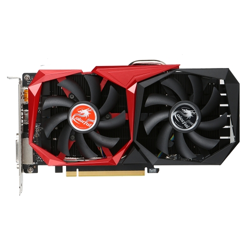 Colorful GTX1050 NB Scheda video grafica 7Gbps 2G GDDR5 128bit PCI-E 3.0 con porta HDMI DP DVI-D